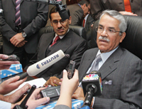 Naimi ... dispelling any fears of supply problems