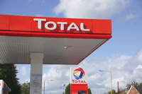 Total ... teaming up with Qatar for buying up assets