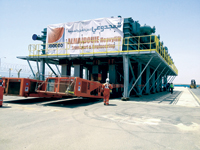 Almajdouie ... expertise in moving huge loads