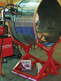 Orbital welding technique is an automated arc welding method