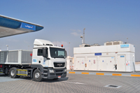 Bauer has successfully set up CNG distribution facilities at Adnoc's fuel retail stations