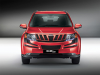 XUV 500 ... sporting a fender made<BR>out of Sabic's resin