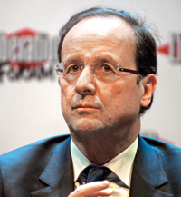 Hollande ... pitching for Total