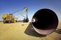 Pipeline linking Habshan with Fujairah