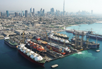 Drydocks World-Dubai is the largest and modern facility between Europe and the Far East