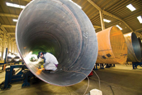 The group has made huge investments in pipe corrosion control services