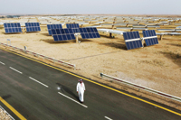 Saudi Arabia is already pursuing alternative energy forms