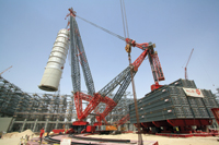 Ale's ALSK190 crane ... high capacity, small footprint