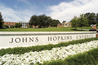 Johns Hopkins ...  teaming up with Aramco