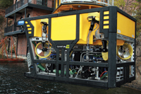 SMD's Q-series range of work class ROVs