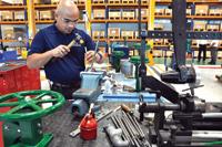 Emerson's Fisher control valve facility