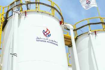 Tatweer's mud plant tank adheres to strict quality control procedures