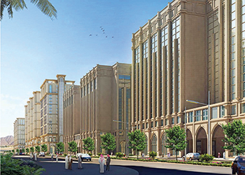 Zamilk AC ... winning Dar Al Hijrah project in Saudi Arabia