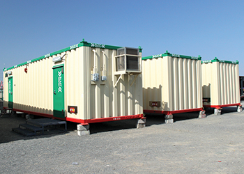 Byrne's recently launched blast resistant container units