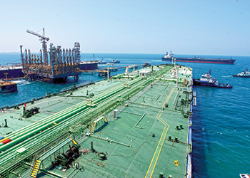 Saudi Aramco exported a total of 2.5 billion barrels in 2014