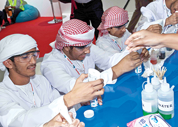 Young Adipec ... aiming to highlight the wealth of career opportunities in the oil and gas industry