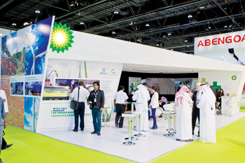 BP is teaming up with Masdar to reduce WFES's carbon footprint