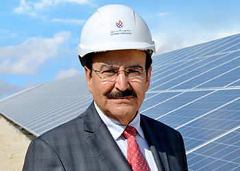 Dr Mirza ... re-vitalising the energy sector