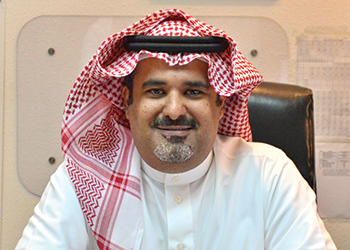 Khaled bin Adwan ... aiming to be a global supplier