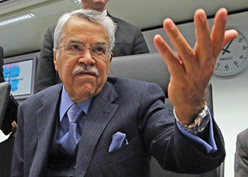Naimi ... hoping markets will rebound