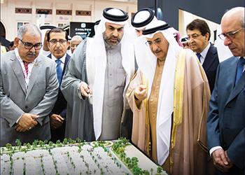 Bin Faqeeh ... unveiling Al Sidra at Bipex