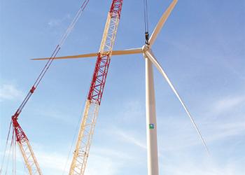 GHHL erecting Saudi Arabia's first wind turbine