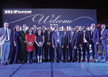 Hi-Force Middle East Management and Sales team