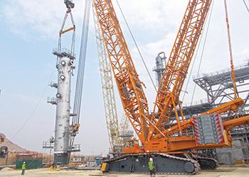 JGC ... construction of the CGP in progress