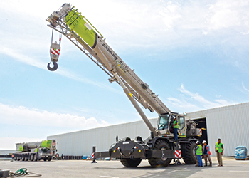 RANCO is the exclusive dealer for ZOOMLION RT Cranes