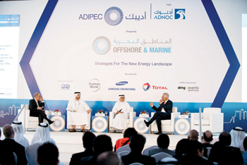 An Offshore and Marine conference in session at a previous edition of Adipec