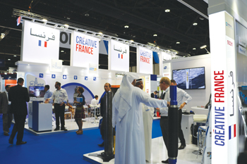 Business France is presenting some 40 companies at Adipec