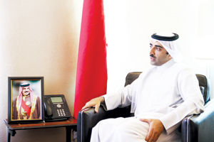 Shaikh Mohammed ... bringing about transformation in the oil and gas sector