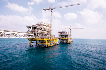 Aramco's Safaniya ... the world's biggest offshore field