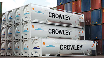 Crowley ... adding ISO tanks