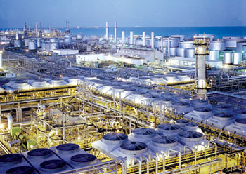 The Ras Tanura refinery