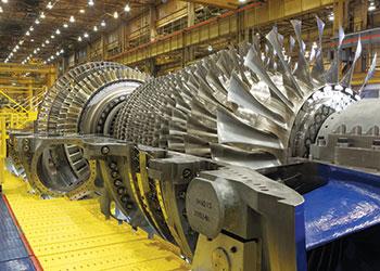 The GE HA turbine