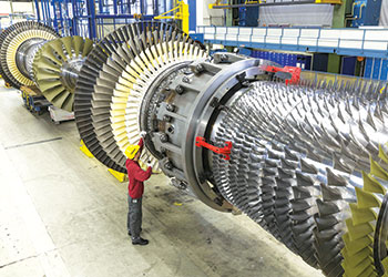 Gas turbines are capable of reaching full load operation in a matter of minutes