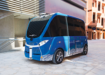 Navya, the autonomous vehicle