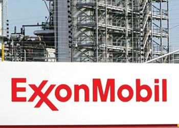 Exxon ... posting refining losses