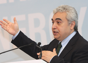 Birol ... support for nuclear power