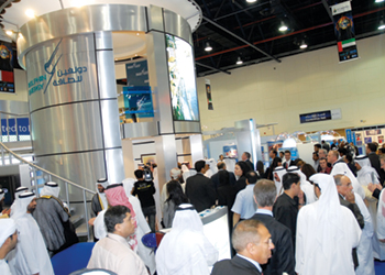 Adipec 2019 at Adnec, Abu Dhabi, UAE from