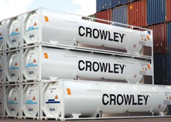 Crowley's new ISO tank