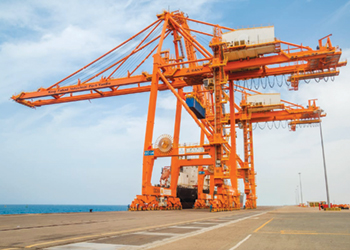 The King Fahad Industrial Port in Yanbu