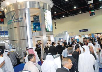 Adipec 2019 at Adnec, Abu Dhabi, UAE from