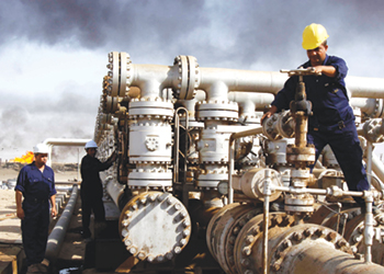 Iraq is seeking huge investments in its oil sector