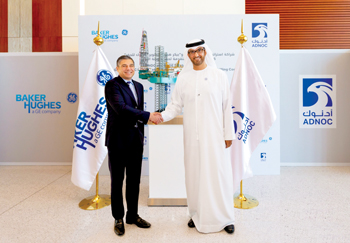 Adnoc and Baker Hughes working together on drilling business