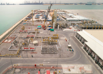 LNG receiving and regasification terminal ... the first in the Middle East