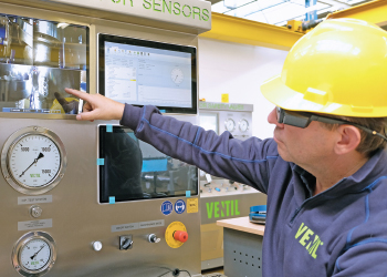 Smart glasses used to remotely witness technology