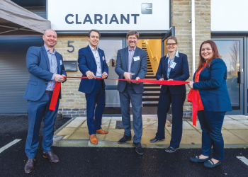 Officials of Clariant Refinery Services inaugurate the new oil laboratory