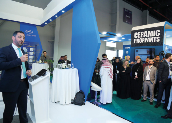 The Pall Arabia joint venture being announced at IPTC